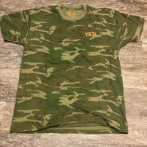 YETI Camo Short Sleeve Shirt